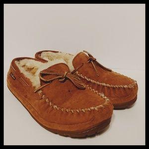 L.L. Bean sheepskin slippers mens size 8